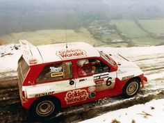 MG Metro 6R4 rally car.