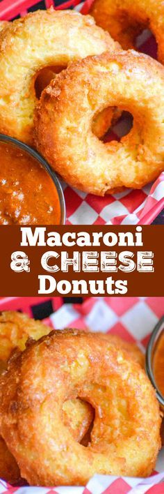 While most donuts are sweet, these baked donuts hide the yummiest savory surprise inside. Crisp on the outside, with a creamy, cheesy center– Macaroni And Cheese Donuts are a bucket list experience.