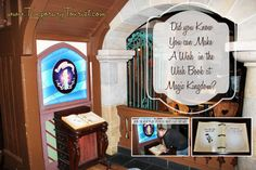 Did you know that back in Fantasyland at Magic Kingdom, in Walt Disney World Florida, there is a little hidden secret? While going to Walt Disney World may have been a wish come true, most of us h… Disney Secrets, Disney World Tips And Tricks, Disney Tips, Disney Love, Disney Stuff, Disney 2017, Disneyland Tips, Disney Disney, Disney Cruise