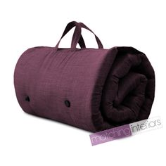 Prune Voyage Guest Sleepover Matelas Futon Roll Up Z Bed Gap Year Student