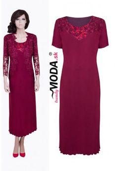 Spoločenské šaty  BO12 Short Sleeve Dresses, Dresses With Sleeves, Fashion, Moda, Sleeve Dresses, Fashion Styles, Gowns With Sleeves, Fashion Illustrations