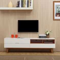 Clean, cool and contemporary, the Orchid Entertainment Unit from Modish will change the tune of your living room interior. Online Furniture, Home Furniture, Furniture Design, White Entertainment Unit, Units Online, Tv Unit, Living Room Interior, Buffet, Entertaining