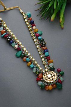 Indian Jewelry Earrings, Indian Jewelry Sets, Fancy Jewellery, Jewelry Design Earrings, Stylish Jewelry, Necklace Designs, Wedding Jewelry, Beaded Jewelry, Jewelery