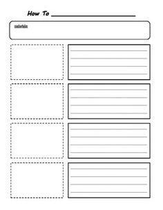 How To Writing Planning Organizer