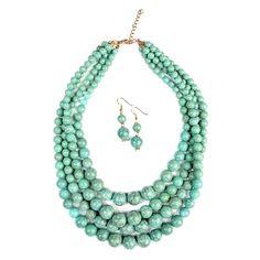 MYS Wholesale > Necklace Sets > #HDN1361 − LAShowroom.com