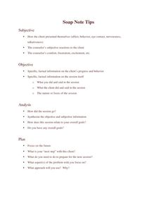 ... note templates in this SOAP Note and Progress Note kit available for: