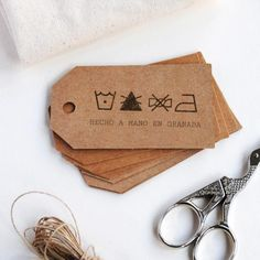 Custom washing instructions stamp, Custom care label stamp for washing instructions tags, DIY washing instruction cards, care label icon tag Clothing Packaging, Clothing Labels, Fashion Packaging, Business Stamps, Branding, Original Gifts, Logo Stamp, Hang Tags, Custom Logos