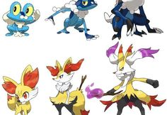 pokemon x and y mega evolution all starters - Google Search