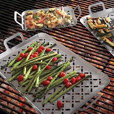Sur La Table® Stainless Steel Grill Grids   Sur La Table