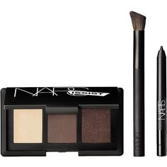 NARS NARSissist Smokey Eye Kit 1 ea (76 CAD) ❤ liked on Polyvore featuring beauty products, makeup, eye makeup, eyeshadow, beauty, filler, eye shadow brush, nars cosmetics, shadow brush and eyeshadow brush kit