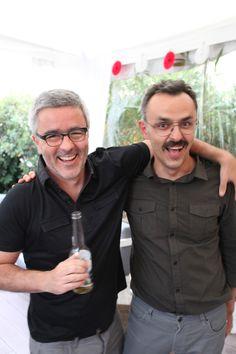 Miguel & Daniele, super happy!