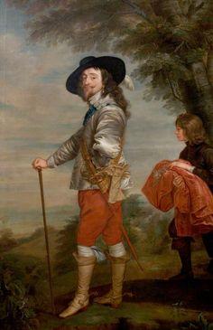 Charles I (1600–1649) - by Anthony van Dyck 17th C