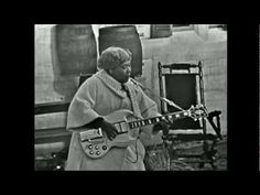 Sister Rosetta outplaying Chuck Berry on guitar.