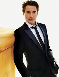 RDJ, a personal favorite. I like a Smoking dressed down with a day tie.