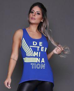 Regata Determination - Donna Carioca - Moda fitness com preço de fábrica 6a565c70feb