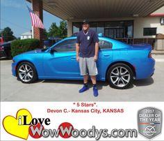 """""""5 Stars!""""  Devon C. Kansas City, KANSAS"""