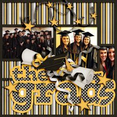 Using Graduation Day Mini by Little Rad Trio and My Graduation Story by Lissykay Designs