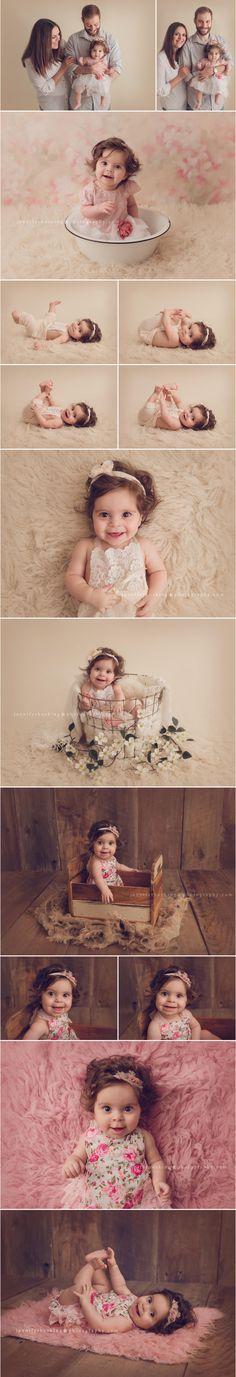 Baby Milestone Photographer Metro Detroit