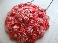 KNOTTED FLOWER PENDANT by Kris | 5 responses | September 28, 2013 I love projects that look impossibly complicated when they're really just ...
