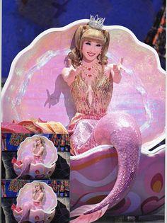 蘭乃はな Mackenzie Foy, Japanese Landscape, Musicals, Disney Characters, Fictional Characters, Mermaid, Costumes, Disney Princess, Anime