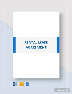House Rental Agreement Template - Word (DOC)   Google Docs   Apple (MAC) Apple (MAC) Pages   Template.net Rental Agreement Templates, Three Bedroom House, Word Doc, Letter Size, Being A Landlord, Bar Chart, Google Docs, Lettering, Words