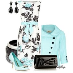 """John Lewis Precis Petite Floral Dress"" by kginger on Polyvore"