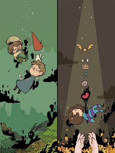 Over the garden wall and Undertale