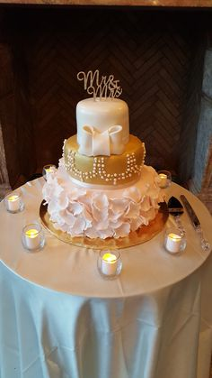 Amazing wedding cake.