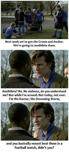 The doctor and non violence