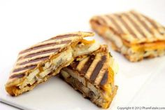 Roasted Chicken and Apple Panini Sandwich