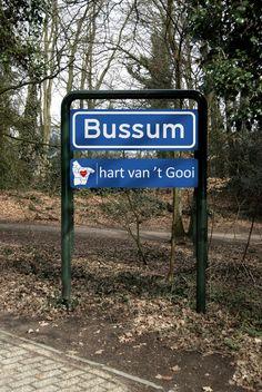 Bussum, hart van 't Gooi, Noord-Holland.