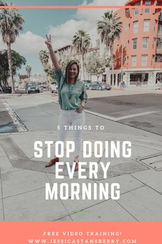 Stop doing these 5 things every morning!