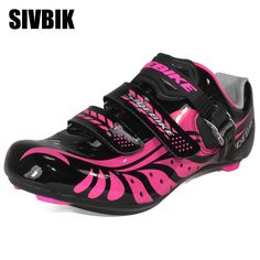 Sidebike Professional Women Cycling Shoes Road Auto-Lock Shoes Bike Breathable Racing Athletic Bicycle Shoes Zapatillas Ciclismo Features: 1.Uppers By PU. Visit CyclingShop.net