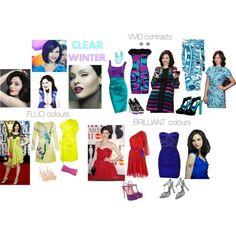 Designer Clothes, Shoes & Bags for Women Clear Winter, Deep Winter, Beautiful Clothes, Beautiful Outfits, Sophie Ellis Bextor, Seasonal Color Analysis, Wardrobe Capsule, Bright Spring, Winter Springs