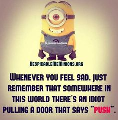 ...I'm that idiot by the way. When it CLEARLY says pushi, I pull it! My friend laughs when she sees me do this!