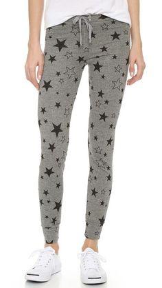 SUNDRY Classic Stars Skinny Sweatpants