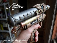 More Steampunk guns from water pistols