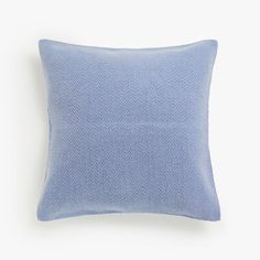 Image of the product FADED JUTE CUSHION COVER WITH HERRINGBONE EFFECT