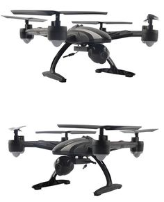 Upgrade Version 2MP Mini Drones Helicopeter With HD Camera 2.4G 4CH 6 axis Headless Mode One Key Return RC Helicopter Camera