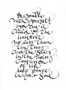 "Ylva Skarp print ""Be Gentle"""