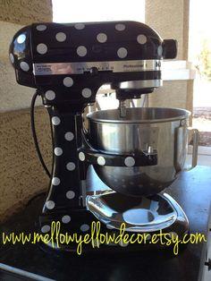Polka dot mixer? Really?