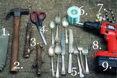 Tools for Flatware Art