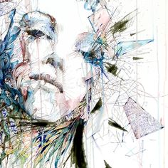 Carne Griffiths in Ink Tea and Alcohol