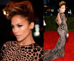 wild hair - Jennifer Lopez met gala 2013