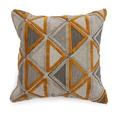 Extra large TRIANGLE FLOOR PILLOW.  $450 [available online and in stores]
