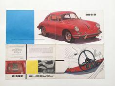 1960 Porsche 356 B brochure. - Catawiki