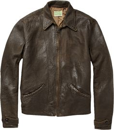 """Levi's Vintage Clothing 1930s Distressed """"James Bond"""" Jacket - Bench and Loom"""