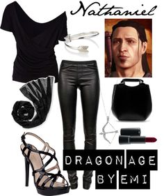 """Dragon Age - Nathaniel"" by emi-watson on Polyvore"