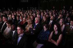 The looks on the faces of the vice presidential debate attendees says it all