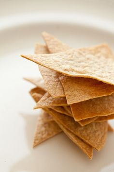 Baked Low Carb Tortilla Chips